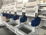 8 Köpfe computerisierten Stickerei-Maschinetajima-Software-China-gute Qualität flache Schutzkappen-Stickerei-Maschine strickend