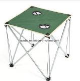 Для использования вне помещений Сверхлегкий портативный зеленый Оксфорд ткань складного стола