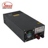 Bloc d'alimentation à sortie unique de Smun S-1200-24 24VDC 50A 1200W AC-DC