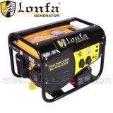 Portable 3 Kw 3kVA conjunto gerador a gasolina do painel de peixe