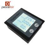 Medidor atual da energia eléctrica da energia do watt da tensão de Stn LCD 80-260V 10A da fase monofásica da C.A. Pzem-001