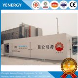 Estación de carga de GNL portátil chino con 20m³ Fabricante de tanque de almacenamiento de GNL