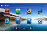 TV 3G RDSのiPodを持つ車GPS DVDプレイヤー