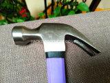 молоток с раздвоенным хвостом 16oz/молоток ногтя/молоток плотника в ручных резцах с пластичной ручкой XL0008