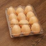 Розничные сети супермаркетов в блистерной упаковке ясно пластмассовом ящике для яйца ящик ПВХ яйцо лоток