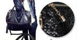 Les femmes Leopard Messenger Bag Sac à main en cuir sacs de PU