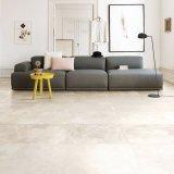 Nuevo diseño de cemento de baldosas de cerámica esmaltada Baldosas de inyección de tinta de color beige (AVE601)