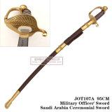 Espada militar 95cm Jot107A de Officer da espada comandante saudita