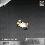 Cr2450 Doos BS-2450-2 van de Batterij van de Houder van de Batterij Au SMT