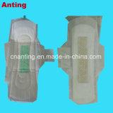 L'anion respirant coton femelle de serviettes sanitaires / des serviettes hygiéniques pour les femmes