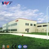 De de milieu Prefab Lichte Fabriek van de Structuur van het Staal en Bouw van het Pakhuis