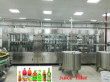 Automatic Fart Beverage Bottle Filling Packaging Machine for Juice with Pulp
