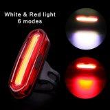 PFEILER LED rotes Blau USB-nachladbares hinteres Fahrrad-Fahrrad-Endstück-Licht