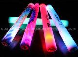 OEM 선전용 플라스틱 주형 번쩍이는 LED 갈채를 보내는 지팡이