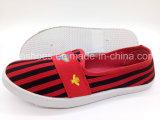 Hotsale дамы ЭБУ системы впрыска Canvas обувь повседневный Sneaker Pimps обувь (FPY818-14)