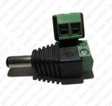 conetor masculino do adaptador de plugue de Jack da alimentação de DC De 5.5X 2.1mm para a câmera do CCTV