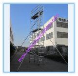 Échafaudage en aluminium de tour sûre de GV pour Repairment