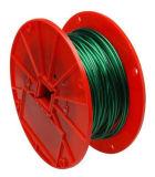 7X7 RECUBIERTA DE NYLON Cable de acero galvanizado a la esgrima enarbolando la minería, Teleférico