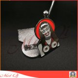 Distintivo Custom Designed del metallo di immagine della donna