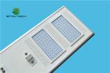 Control de la APP de LED de alta potencia de 120 vatios de luces de calle solar integrada para la iluminación comercial (SNSTY-2120)