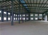Taller de acero industrial y depósito de acero