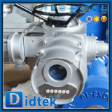 Клапан-бабочка вафли электрического триппеля Dn350 Didtek смещенная