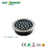 Luz subterráneo al aire libre vendedora caliente de la iluminación 1W~36W LED en IP65