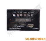 Scheda 12V del decodificatore del MP3 di prezzi di fabbrica di Suoer con il regolatore