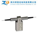 1260-1650nm solo interruptor óptico mecánico de fibra del modo 1X2