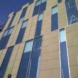 Isolamento térmico em mármore com proteção acústica folheado de pedra de painéis de alumínio alveolado fachada de arquitectura/ Parede Cortina