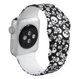 Apple Iwatchのための習慣によって印刷されるシリコーンのスポーツストラップ3/2/1のバンド