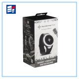 Caixa do recipiente de papel dos produtos do indicador para a mostra do relógio