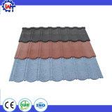 &#160 coloré ; Tuile de toit enduite galvanisée de pierre en acier en métal
