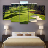 Canvas Paintings Printed 5 Parts Golf Race Wall Art Canvas Pictures for Living room Room 5 GCV Print Posters