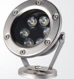 Свет высокого качества напольный водоустойчивый IP68 6W СИД цены по прейскуранту завода-изготовителя подводный