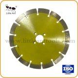 190 mm de color amarillo de la hoja de sierra de diamante para el corte de piedra