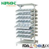 Novo design de prateleiras de Exibição de farmácia com gaveta