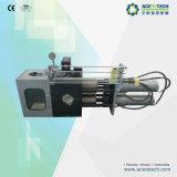 Commutatore idraulico dello schermo per il riciclaggio di plastica
