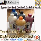 Epson Dx4のための織物インク。 Dx5. Dx6. Dx7. Dx8印字ヘッド