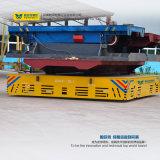 El carro sin rieles con pilas para la construcción naval se aplica