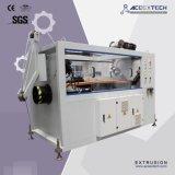 Chaîne de production de pipe de PVC/boudineuse à vis jumelle en plastique (boîte de vitesse verticale)