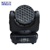 36*3W 4 em 1 LED RGBW Farol do Cabeçote Móvel para Estágio Profissional DJ/Bar/Efeito de iluminação de entretenimento em casa