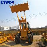 Carregador pequeno articulado da roda de 2.5 toneladas de Payloader para a venda