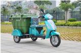 Três descarregadores - veículos elétricos do saneamento