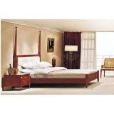 Späteste Hotel-Schlafzimmer-Möbel-Sets mit festes Holz-Schlafzimmer