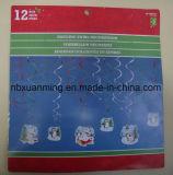 Remolino colgantes decoración con Glitter xm-P-032
