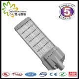 가장 새로운 LED 가로등 옥외 300W 의 Ce& RoHS 승인을%s 가진 싼 LED 가로등 태양 LED 가로등