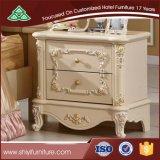 주문을 받아서 만들어진 Design Home 및 Hotel Furniture Wood Nightstand Cabinet 침대 곁 Table