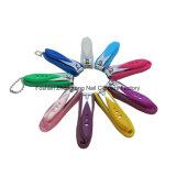 Clipper van de Zorg van de Spijker van de baby met Kleurrijke Plastic Dekking (608S-3)
