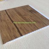 Couleur en bois en bambou en bois de décoration intérieure de panneau mural de fibre de panneau de mur de PVC